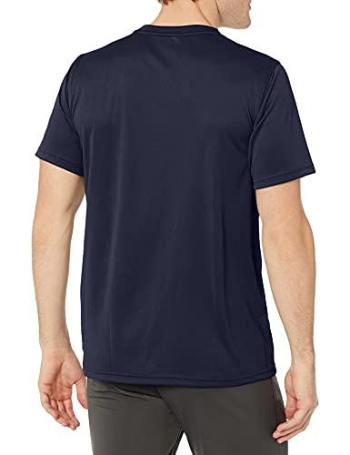 PUMA Men's Performance Cat Tee T-Shirt, Peacoat, XXL