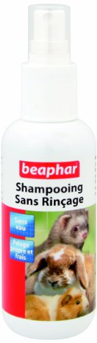 Beaphar - Shampooing sec en spray sans rinçage - rongeur - 150 ml