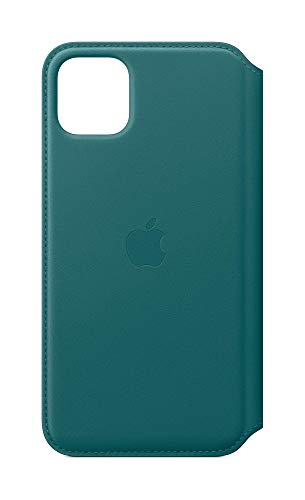 Apple Leather Folio (for iPhone 11 Pro Max) - Peacock