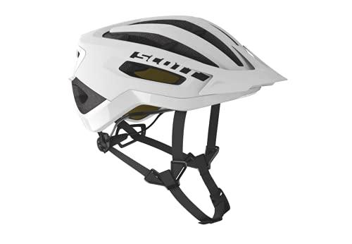 SCOTT 275189 - Casco de Bicicleta Unisex para Adultos, Dk gr/ra Yel, Talla S