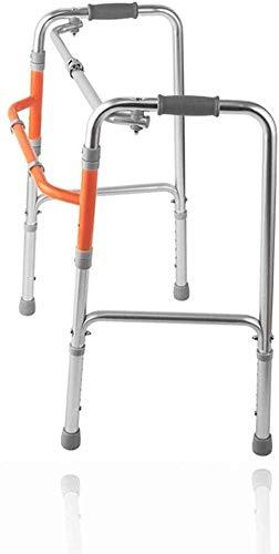 Rollatoren Rollator lopen mobiliteitshulp – Handicap volwassenen gehandicapte Walker lichtgewicht standaard instelbare hoogte lichtgewicht rollator opvouwbaar