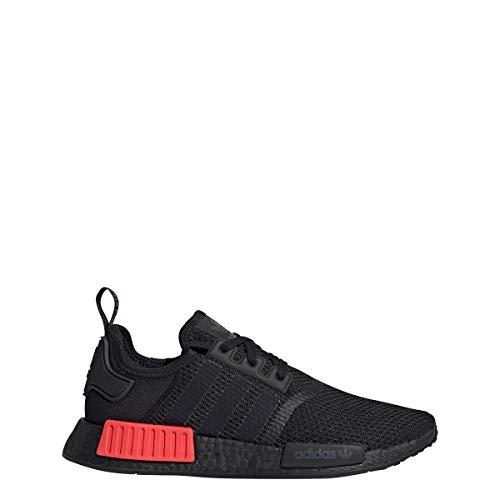 adidas Herren NMD_R1 Sneaker Schwarz, 38