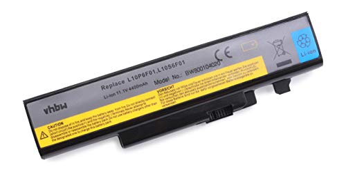 vhbw Li-ION Batterie 4400mAh (11,1 V) adaptée pour Lenovo IdeaPad Y570D, Y570M, Y570N, Y570NT, Y570P.