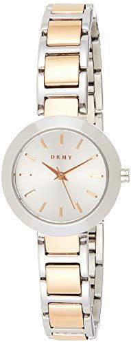 DKNY Damen Analog Quarz Uhr mit Edelstahl Armband NY2402