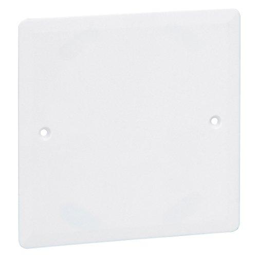 Legrand LE02893AA - Tapadera para caja Batibox (85 x 85 mm u 85 mm de diámetro)