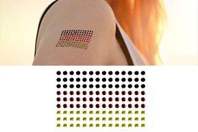 gogoritas Pierres de Strass pour Tatouages de Corps de Swarovski Elements (Allemagne), 1 Pièces