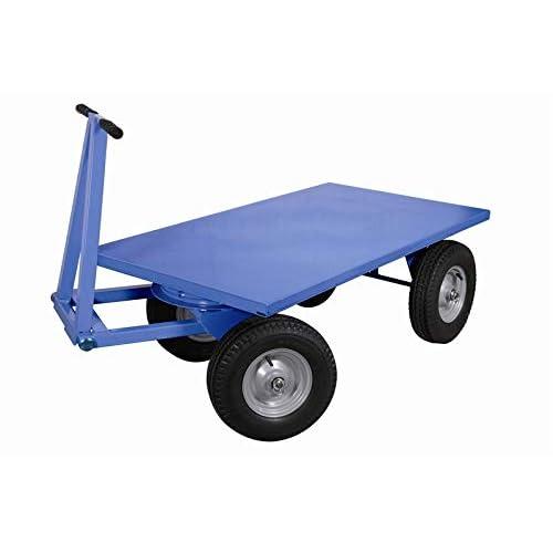 Carmeccanica Rimorchio con ralla sterzante con timone/occhione ruote pneumatiche