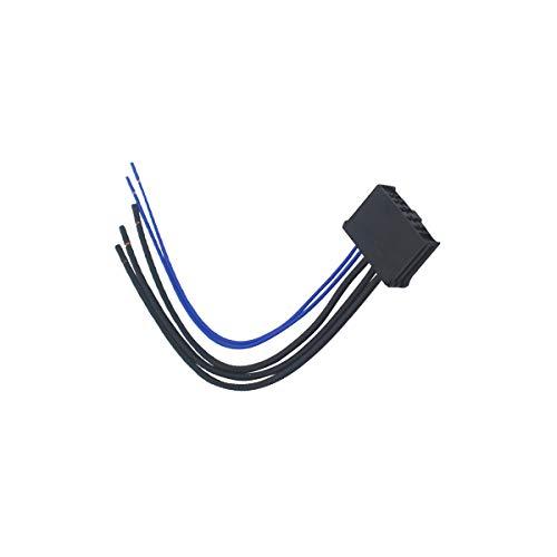 KASturbo Calentador Ventilador Resistencia Cableado, Soplador Resistencias Cable Conector para PEUGE0T 307 Citr0en 9636618080 6450.JP