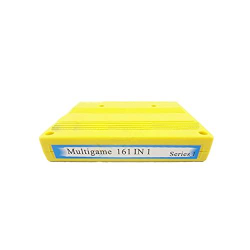 TX GIRL 161 En 1 Jamma PCB Juego Junta Arcade Máquina Cartucho SNK Placa Base MVS Neo Geo Multi Juego Caja Cassette DIY Piezas (Color : Yellow)