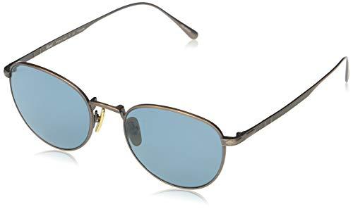 Persol Occhiali da sole PO5002ST 8003P1 occhiali Uomo colore Marrone lente verde taglia 51 mm