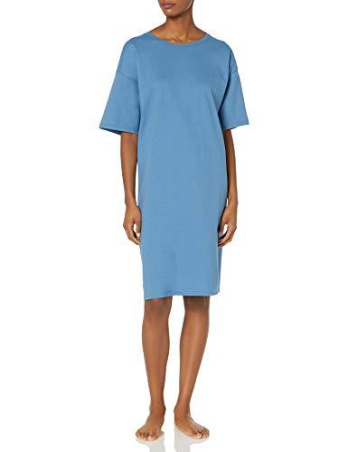 Hanes Women's Wear Around Nightshirt, Denim Blue, One Size