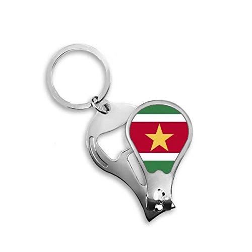 DIYthinker Suriname Nationale Vlag Zuid-Amerika Land Toenail Clipper Cutter