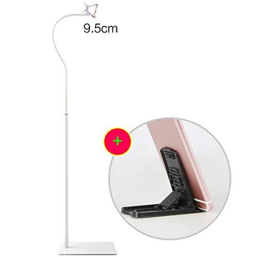 GYCOZ Multifunctionele Vloerstaande Lazy Beugel Nachtkastje Mobiele Telefoonhouder Bed Hoofd Universele Universele Zelfontspanner Frame Voor 3,5-11 Inch Telefoon Of Tablet Mobiele telefoonhouder