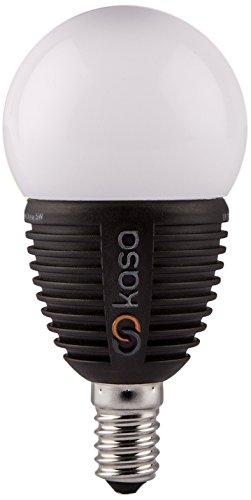 Veho Smart Bombilla LED Regulable E14, 5 W, Negro, 10.1 x 5 x 5 cm
