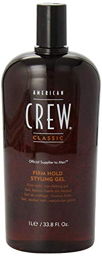 American Crew Firm Hold Styling Gel 33.8-Ounce Bottle Hair Look Thicker Shin..