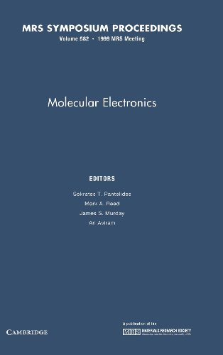 Molecular Electronics: Volume 582 (MRS Proceedings, Band 582)