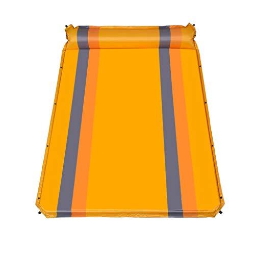 Tente extérieure Sleeping Pad Tapis Gonflable Automatique Coussin d'humidité Ultra Light Adventure Randonneur Tapis de Loisirs Peut être épissé Xuan - Worth Having (Color : Orange)