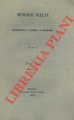 Mitologia e culto nella Polinesia. Cenni statistici sull'isola di Cuba. Notizie intorno all'isola di Van-Diemen o Tasmania.
