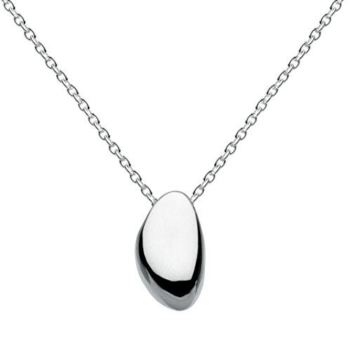 Kit Heath Sterling Silver Pebble Necklace of Length 45.7 cm
