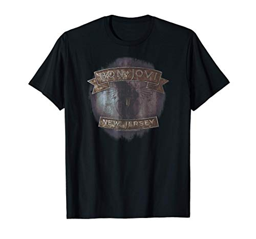Bon Jovi New Jersey T-Shirt, 4 Colors for Adult and Child Sizes