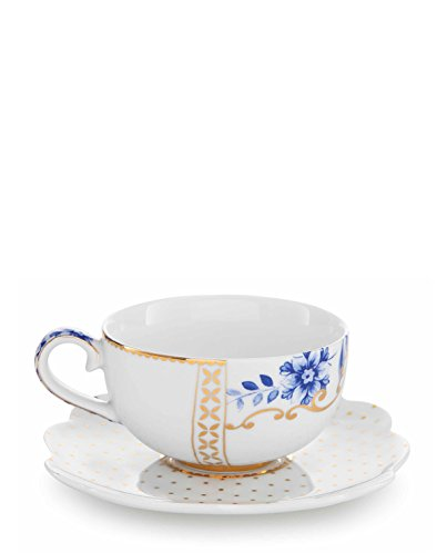 PiP Studio Royal Unterteller & Espressotasse white