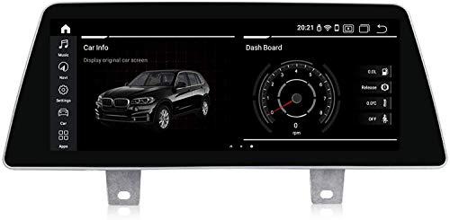 ZBHWYD Adecuado para B M W 5 Series G30 2018 EVO Android 10 Coche Radio Estéreo GPS GPS Navegación Host TOUP Full Touch IPS Pantalla Multimedia Player Sat Nav SWC Control de teléfono