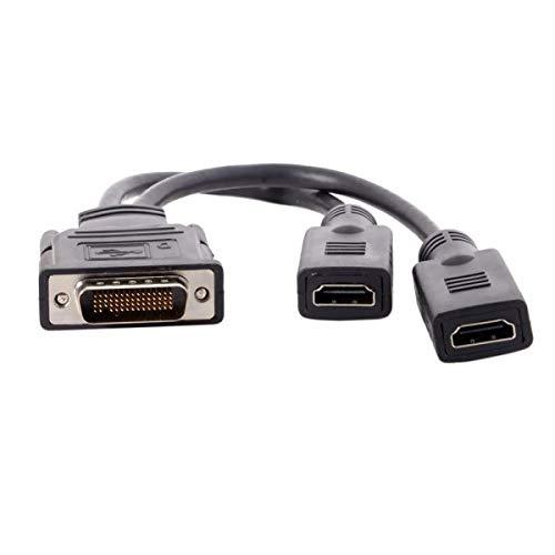 Systeem-S DMS-59Pin stekker op 2x HDMI-bus splitter kabel 25cm