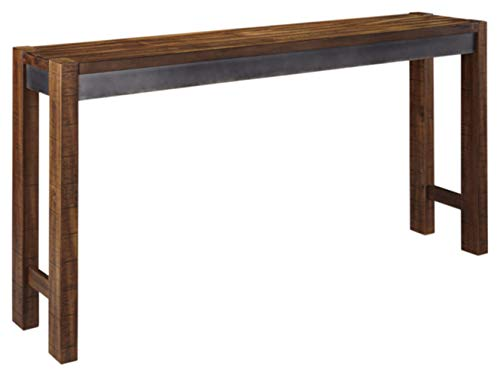 Signature Design by Ashley Furniture Torjin Urban Counter Height Dining Room Table, Two-tone Brown