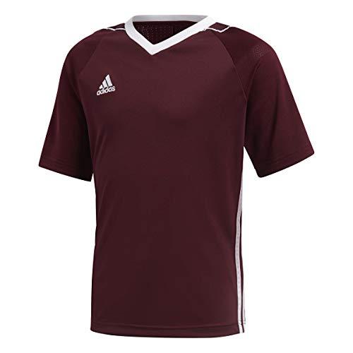 Adidas Youth Tiro 17 Soccer Jersey M Maroon/White