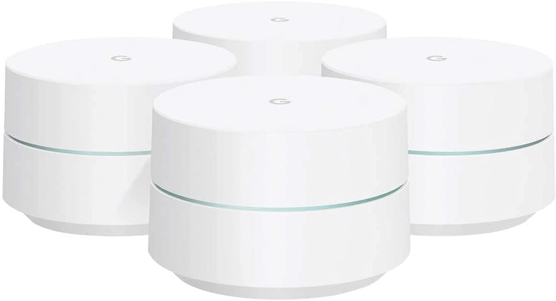 Google 4 Pk Wifi AC1200 Dual-Band Home WiFi System