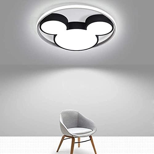 LLYU Lámparas de techo lámpara de techo redonda 52cm, lámpara colgante Protección de los ojos de habitaciones de 3 colores LED de ahorro de energía for la Infancia