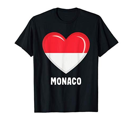 Bandiera di Monaco | Monacan Maglietta