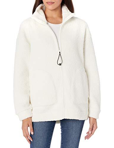 Skechers Winter Solstice Jacket Forro Polar, Egret, XXXL para Mujer