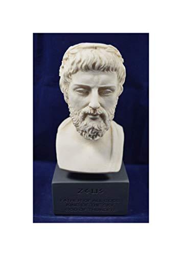 Zeus Escultura Estatua Antigua Griega Dios Rey Todos