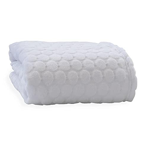 Clair de Lune Marshmallow Baby Blanket (White)