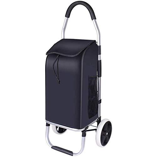 SYue Kaufen Sie Lebensmittelwagen Kleiner Zugwagen Aluminiumlegierung Trolley Car Light Climb Treppen Trolley Cart Folding Tragbarer Einkaufswagen Tragbarer Einkaufswagen Einkaufstasche Einkaufsw