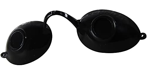 UV Schutzbrille Farbe: schwarz - Solariumbrille, Sonnenschutzbrille, Brille Sunny Luna Eyeshields