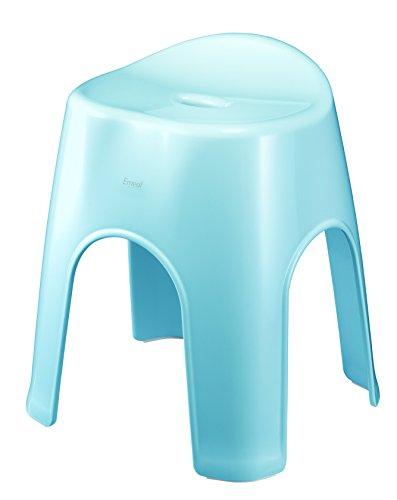 アスベル 風呂椅子 エミール 高さ40cm Ag 抗菌 ブルー