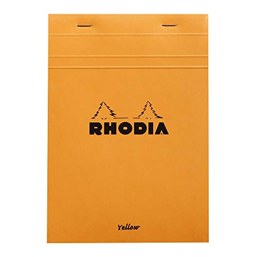 Rhodia - Bloc de notas (tamaño A5, grapado