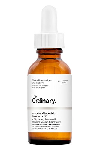 Solución con 12 % de ascorbil glucósido, de The Ordinary, 30 ml