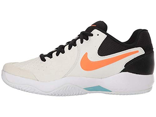 Nike Herren Air Zoom Resistance Tennisschuhe, Mehrfarbig (Phantom/Blue Void/Sail/Orange Blaze 002), 47.5 EU