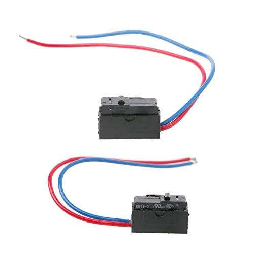 AWQC Interruptor de la Ventana Sensor de Puerta Izquierda o Derecha Bloqueo Micro Interruptor Compatible con Octavia Fabia Superb Passat B5 Bora Golf 4 MK4 reemplazo (Color : Right)