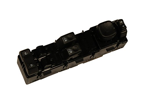 GM Genuine Parts 15883322 Front Driver Side Door Lock and Window Switch with Mirror Switch and Module