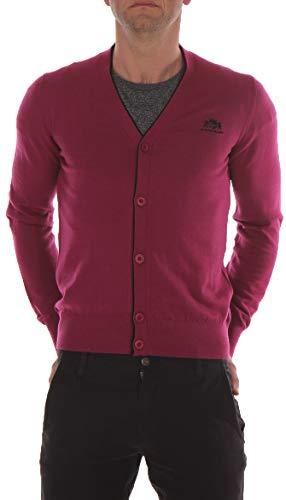 STATE OF ART heren gebreide jas Regular Fit roze