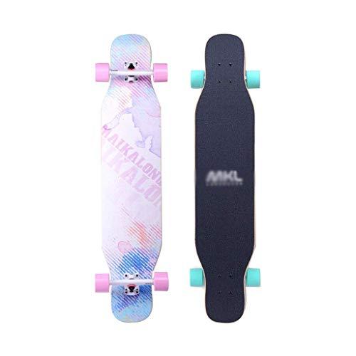 Skateboards vierrädrigen Skateboard Longboard Skateboard Profi Skateboard Adult Teen Jungen und Mädchen Tanzkollegs Professionelle Lange Ausgabe Doppelaxt Reisen Straßen Anfänger skateboard ninjago RV