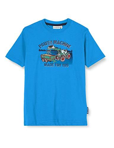 Salt & Pepper Jungen 03112163 T-Shirt, Blau (Regatta Blue 469), (Herstellergröße: 104/110)