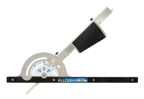 Shinwa Sokutei Circular Saw Guide Ruler [Mini Free Angle 2] 30cm (78179) (Japan Import)
