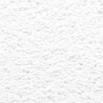 Baumwollputz Farbdekor Weiß - Flüssigtapete aus weißer Baumwolle mit feiner Struktur für ca. 4m²