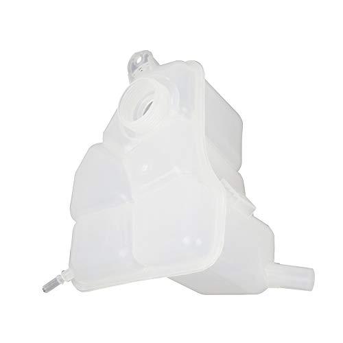 Expansionsflüssigkeitsbehälter mit Überlaufdeckel für Ford Fiesta Wasserkocher Kühlwassertank 1221362, weiß, Einheitsgröße