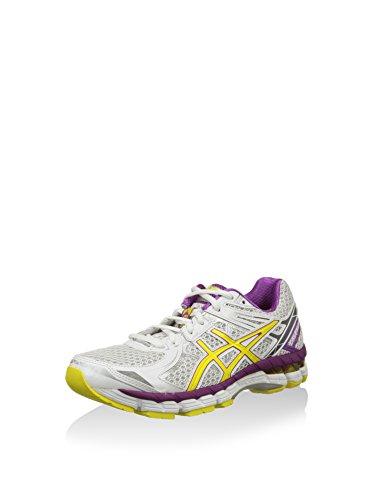Asics ASICS Damen Running Gt-2000 2, weiß/gelb, 37.5 EU
